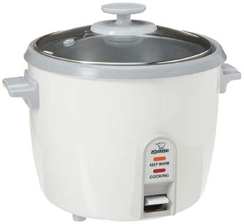 7: Zojirushi NHS-10 6-Cup (Uncooked) Rice Cooker