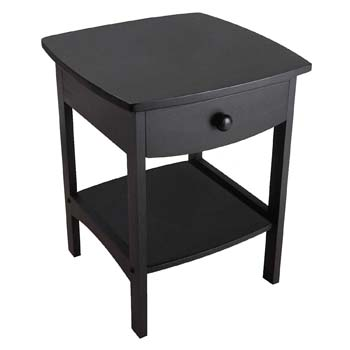 2: Winsome Wood 20218 Claire Accent Table, Black