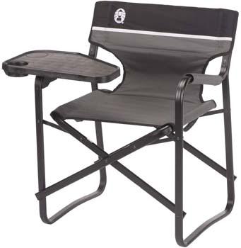 10. Coleman 2000020295 Chair Deck Aluminum W/Swivel Table