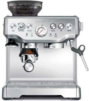 1: Breville the Barista Express Espresso Machine, BES870XL