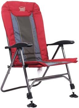 2: Timber Ridge TRFCH011LA Camping Chair Folding Heavy Duty