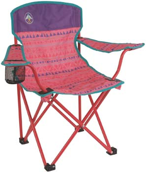 7. Coleman Kids Quad Chair