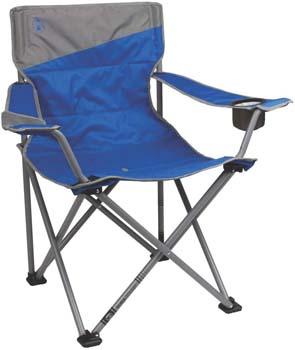 2: Coleman Big-N-Tall Quad Camping Chair
