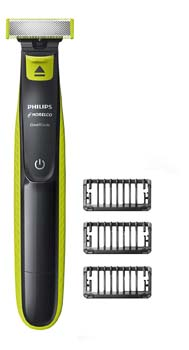 10: Philips Norelco OneBlade Hybrid Electric Trimmer and Shaver, FFP, QP2520/90