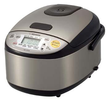 9: Zojirushi NS-LGC05XB Micom Rice Cooker & Warmer