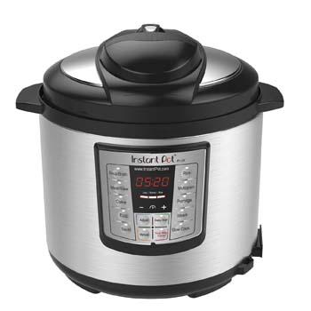 2: Instant Pot LUX60V3 V3 6 Qt 6-in-1 Multi-Use Programmable Pressure Cooker