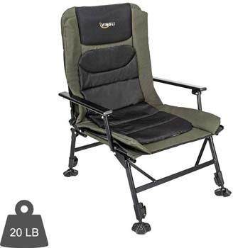 1: VINGLI Professional Fishing Chair Foldable