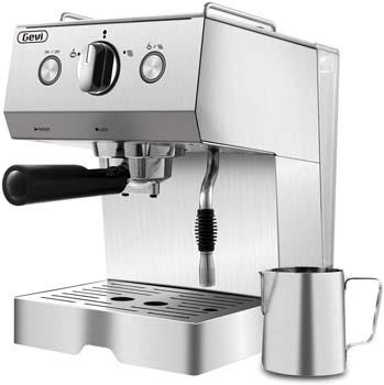 7: Barsetto Espresso Machine Coffee Machine 15 Bar Stainless Steel Coffee Brewer