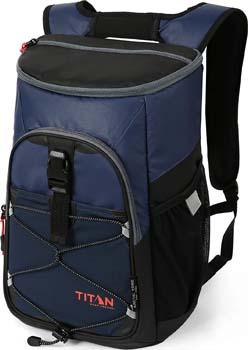 9. Arctic Zone Titan Deep Freeze 24 Can Backpack Cooler