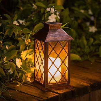 1: TAKE ME Solar Lantern, Outdoor Garden Hanging Lantern