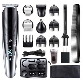 2: Hatteker Men's Beard Trimmer Grooming kit Hair Trimmer