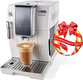 6: De'Longhi Dinamica Automatic Coffee & Espresso Machine TrueBrew (Iced-Coffee)