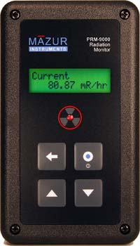 3: Mazur Instruments PRM-9000 Geiger counter and Nuclear Radiation Contamination Detector