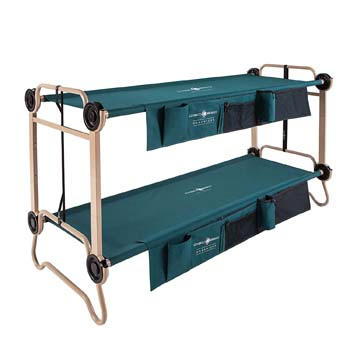 9: Disc-O-Bed Large with Organizers and Leg Extensions