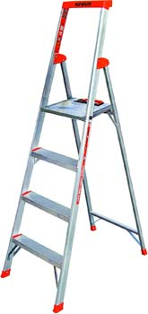 8. Little Giant Ladder Systems Flip-N-Lite 300-Pound Duty rating 6-foot Stepladder with Platform
