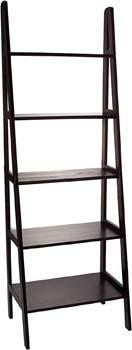 5. Casual Home 5-Shelf Ladder Bookcase