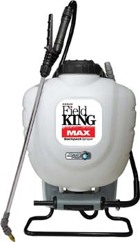 3. Field King Max 190348 Backpack Sprayer for Professionals Applying Herbicides