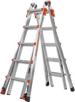 1. Little Giant 22-Foot Velocity Multi-Use Ladder, 300-Pound Duty Rating, 15422-001