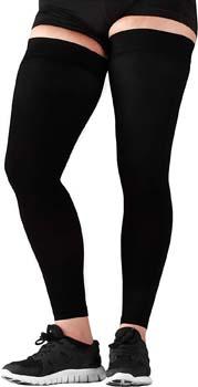 4. Mojo Compression Stockings Medical Thigh Leg Sleeve Firm 20-30mmHg Black Large