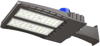 4. AntLux 150W LED Parking Lot Lights Shoebox Pole Light
