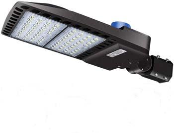 5. 200W LED Parking Lot Lights- LEDMO 5000K LED Street Lights Shoebox Pole Lights