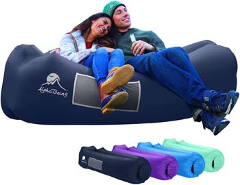 5. AlphaBeing Inflatable Lounger