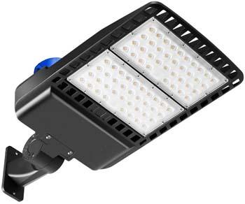 9. SHOPLED LED Parking Lot Light 200W