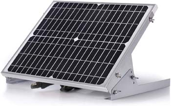4. SUNER POWER 12V Waterproof Solar Battery Trickle Charger & Maintainer