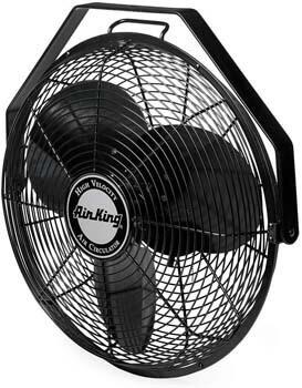 10. Air King 9318 Industrial Grade High-Velocity Multi-Mount Fan, 18-Inch