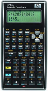 9. HP 35S 35S Programmable Scientific Calculator, 14-Digit LCD