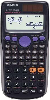 7. Casio fx-300ES PLUS Scientific Calculator, Black