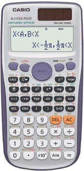 4. Casio fx-115ES PLUS Engineering/Scientific Calculator