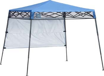 3. Quik Shade Go Hybrid Sun Protection Pop-Up Compact and Lightweight Base Slant Leg Backpack Canopy