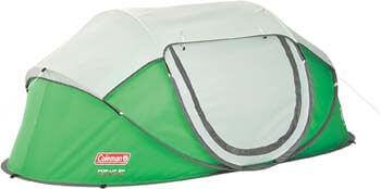 3. Coleman 2-Person Pop-Up Tent