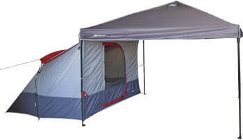 9. Ozark Trail Connectent, 4-Person Tent for Connecting to a Straight-Leg Outdoor Canopy