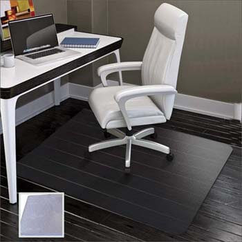 6. SHAREWIN Large Office Chair Mat for Hard Floors