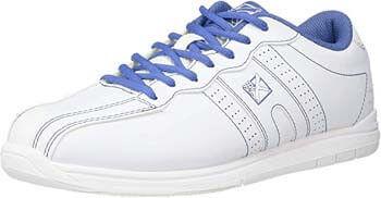 9. KR Strikeforce Women's O.P.P Bowling Shoes- White/Periwinkle