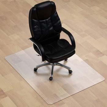 3. MuArts Thickest Chair Mat for Hardwood Floor