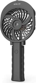 5. OPOLAR Misting Handheld Fan Foldable, Personal Small Desk Table Fan