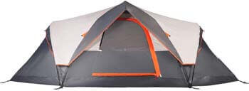 9. Mobihome 6 Person Tent Family Camping Quick Setup, Instant Extended Pop up Dome Tents