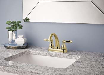 5. Delta Faucet Windemere 2-Handle Centerset Bathroom Faucet