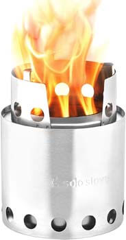 7. Solo Stove Lite - Portable Camping Hiking and Survival Stove