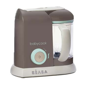 6. BEABA Babycook 4 in 1 Steam Cooker and Blender, 4.5 cups, Dishwasher Safe, Latte Mint