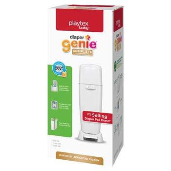 4. Playtex Diaper Genie Complete Diaper Pail, Fully Assembled