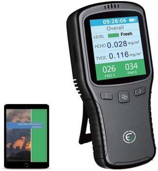 1. EG Air Quality Monitor, Formaldehyde Detector, Pollution Meter, Sensor, Tester