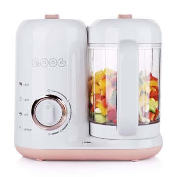 9. QOOC 4-in-1 Baby Food Maker Pro