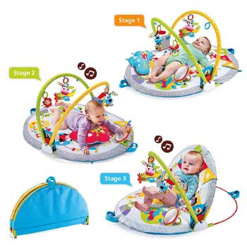 9. Yookidoo Baby Play Gym Lay to Sit-Up Play Mat. 3-in-1 Infant Activity Center for Newborns. 0 - 12 Month