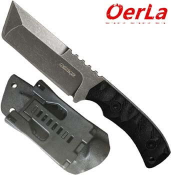 10. Oerla TAC Knives OLHM-012 Fixed Blade Outdoor Duty Knife