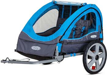 3. Instep Bike Trailer for Kids, Single, and Double Seat