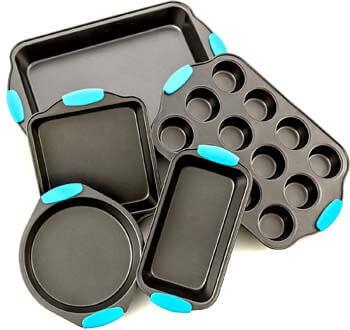 7. Bakeware Set -Premium Nonstick Baking Pans